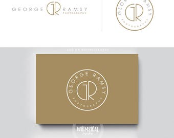 minimal photographer logo, initials male business cards, simple modern logo, gender neutral branding, minimal wedding photographer, monogram