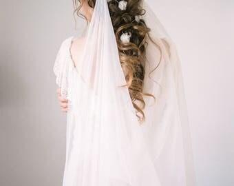 Wedding silk headband Mimi