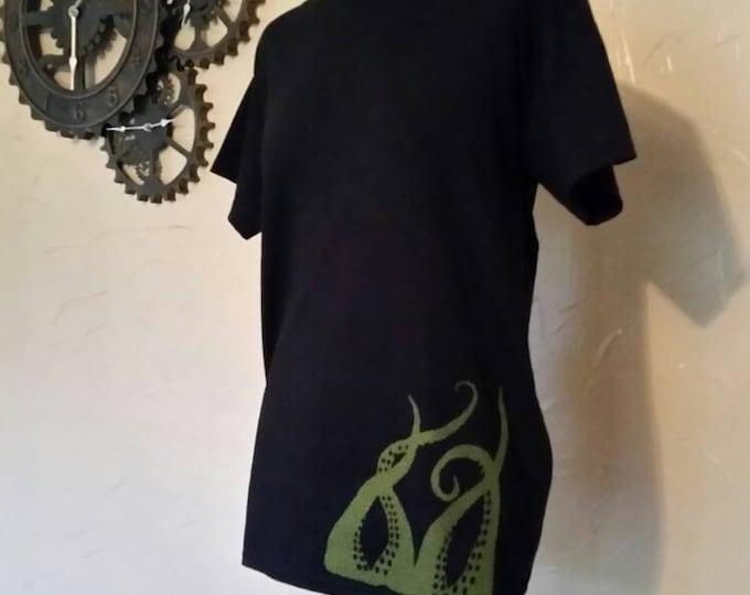 Asymmetrical Steampunk Tentacle 3D Tshirt