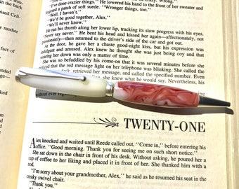 Fun Pens, Swirl Pens, Unique Pen, Cool Pens, Twist Pens, Handcrafted Pens, Custom Pens, Fancy Pen, Writing Pens, Men's Gifts, Women's Gifts