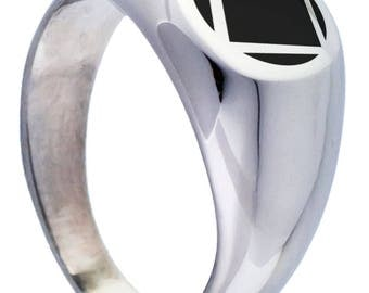 NA Narcotics Anonymous Ring for Women Free US Shipping