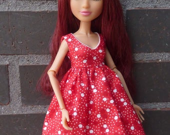 Dress and underskirt for Descendants and Project Mc2 dolls.