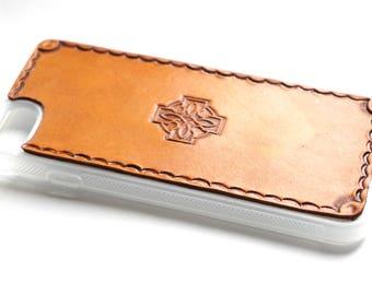 Leather iPhone SE/5s/5 Case | Celtic Cross