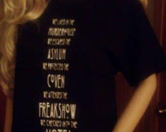 Seven Seasons t-shirt