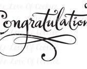 Congratulations! Silk Screen Stencil, stencil cookie stencils, mesh stencils, silk screen stencil graduation stencil