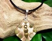 Jade Orgone Pendant - Handmade Healing Jewelry - Lightworker Pendant - Heart Chakra Healing - Small