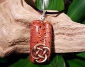 Orgone Pendant - Black Tourmaline - Protection Amulet and Talisman - Root Chakra Healing Necklace - Unisex Orgone Jewelry - Medium