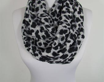 Leopard Scarf Infinity Scarf Animal Print Scarf Winter Scarf Women Fashion Accessories Gift For Women For Mom 48