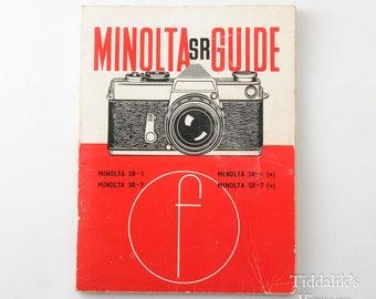 Minolta SR SR-1 SR-7 35mm Camera Guide Focal Press Third Edition 1966 Book