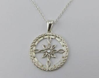 Celtic Compass Necklace
