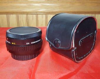 Focal MC 2X Converter Lens