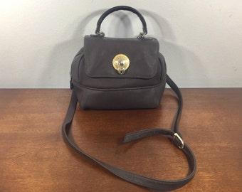 Brown Top Handle purse, Shoulder Bag, Purse, Bag