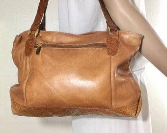 Tignanello, Brown Leather Purse, Bag, Shoulder Bag