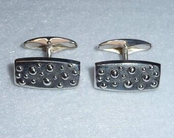 Cufflinks. Silver. Finland. Vintage.