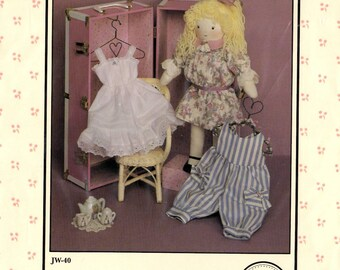 Ashley Beth 18 Inch Doll and Clothes Sewing Pattern New Uncut