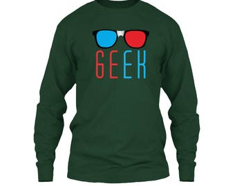 "Men's Long Sleeve T Shirts with Title ""Greek"""