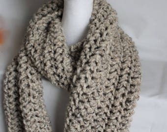Rustic Super Chunky Cosy Scarf