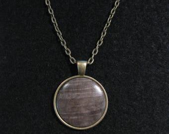 Buckeye Burl Necklace