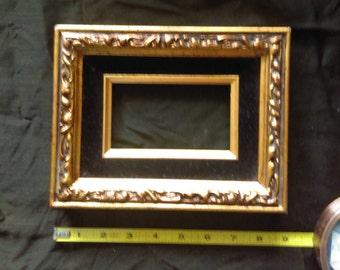 GOLD ORNATE PICTURE Frame Baroque Design