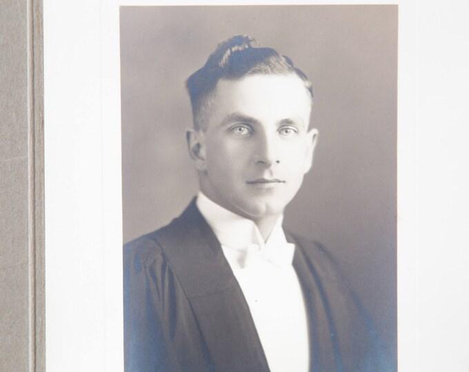 Antique Bradley Cooper Look-a-like Photo / Small Vintage Photo of Errol Flynn Look a Like / Actor Celebrity doppelgänger