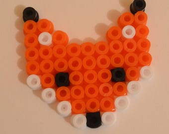 Little Fox in hama beads