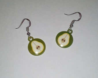 Pear shape earring