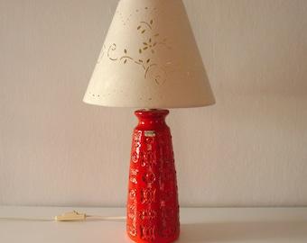 1960s West German Lamp Base by Spara Keramik