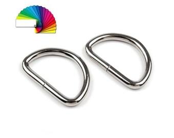 4 Metal D-ring