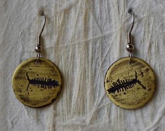 Centipede Earrings