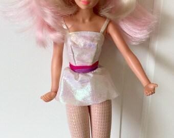 1985 Jem/Jerrica Doll by Hasbro, Jem Doll, Jem and the Holligrams, Hasbro Jem, Jem Dolls, Vintage Jem Doll, Hasbro Dolls, 1980's Dolls, Jem