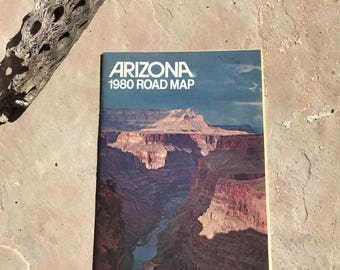 1980 Arizona Road Map