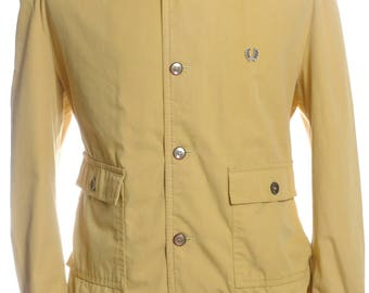 Vintage 1970's Fred Perry Yellow Jacket XL  - www.brickvintage.com