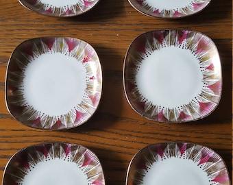 Barvaria elfenbein porzellan,porcelain square dishes.