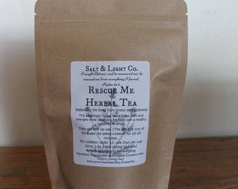 Rescue Me Organic Herbal Tea-Stress-Sickness-Recovery