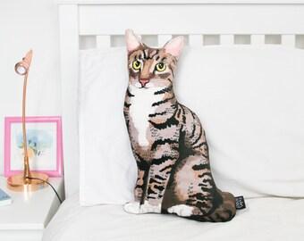 Velvet Cat Cushion