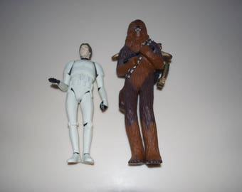 """ONLY Han Solo Left  9.75"""" (Chewbacca Previously Sold) Dolls by Applause 1995"""