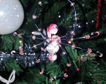 Christmas Spider Ornament