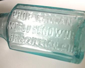 Prof. Callan's World Renowned Brazilian Gum Bottle, 1885-1890