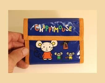 Sanrio Chippymouse Wallet 1995 Billfold Japanese Cute Cute