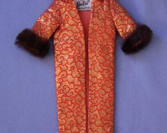 Vintage Barbie Golden Elegance Coat, Near Mint