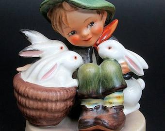 Vintage Hummel Figurine Playmates Tmk.3