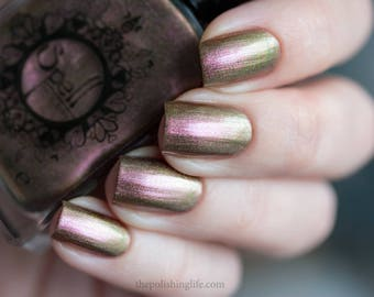 SPELL POLISH Magichromes™: Magic Happens ~Erasing History~ multichrome nail polish!