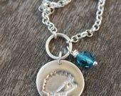 Hedgehog necklace, silver hedgehog pendant, silver hedgehog, wildlife lover gift, nature lover gift, cute hedgehog, wildlife charity