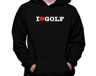 I Love Golf Hoodie