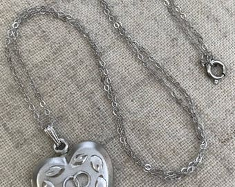Vintage Sterling Silver Locket Forever Infinity Rings Wedding Lovers Love Valentine Bride Bridal
