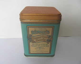 Tin Can - Small  Tin Can  - Wares Candy Tin Can  -