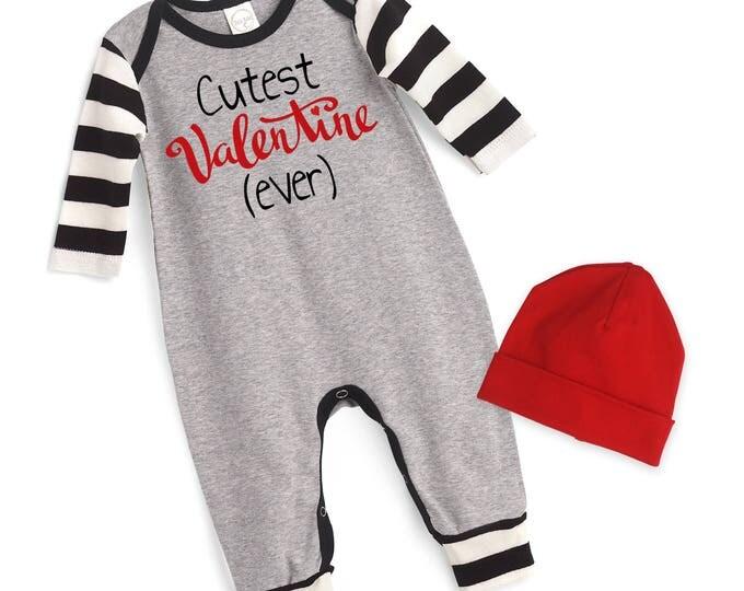 Newborn My First Valentines Romper Gray, Baby Boy Valentine Bodysuit, Infant Boy Valentines Onesie, 1st Valentines Baby Romper, Tesababe