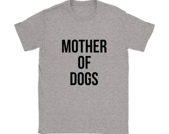 Mother of Dachshunds T-shirt, Dog lovers Tshirt, Dachshund Doxie Funny Tee Shirts, Dog lover gift apparel shirt