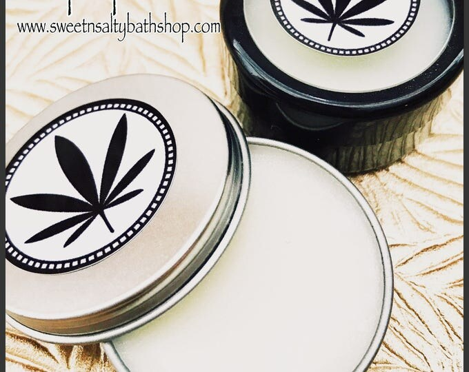 Sweet Hemp Flavored Lip Butter