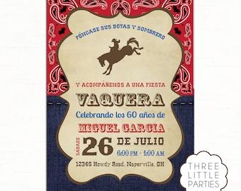 Spanish Invitation Etsy - Birthday party invitation in spanish